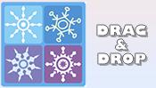Snowflake Drag & Drop Puzzle