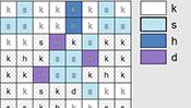 Winter Alphabet Mosaics