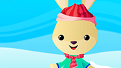Winter Rabbit Dress Up