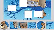 Winter Shape Puzzle