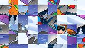 Winter Swap Puzzle