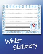 Winter Stationery