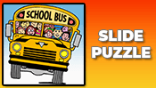School Bus Slide Puzzle